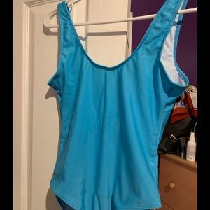 Ocean Blue Booboo bathing Suit